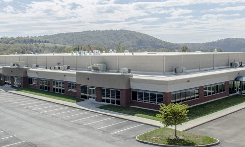 Techlab's Radford manufacturing location