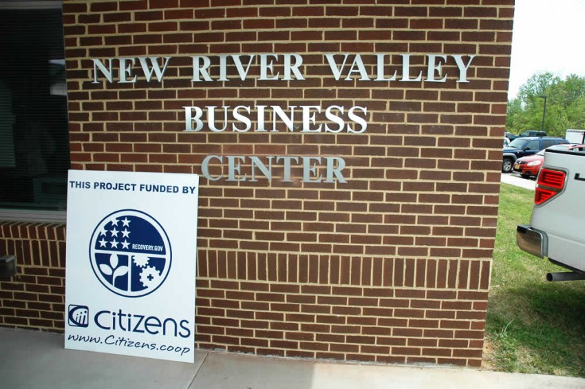 Photograph of the New River Valley Business Center